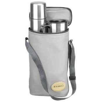 "Isostell-9600BIS-Kit de voyage ""pro bag"", bouteille, tasses, sac isolant."