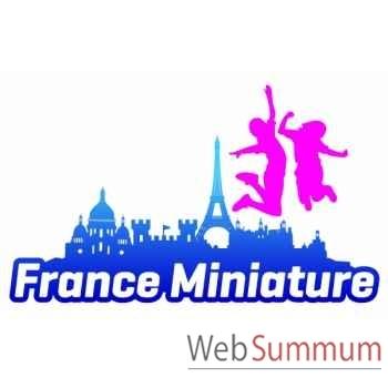 Pass Paradiloisirs - France Miniature-Mer de Sable-Parc Astérix- Grévin  - Pass-famille annuel