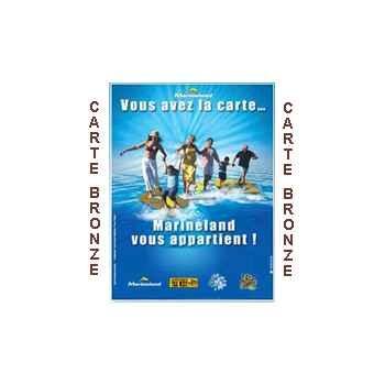 Marineland (06 Antibes) - Pass BRONZE Famille Annuel