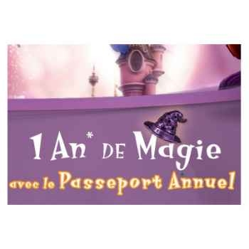 Disneyland Resort Paris - Pass-famille annuel (4 personnes)