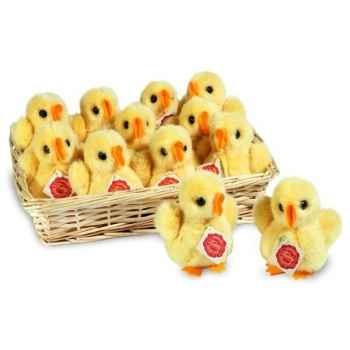 Lot de 12 poulets avec son 12 cm peluche hermann teddy collection 93109 6