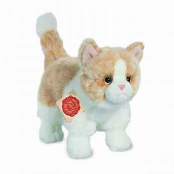 Peluche Chat debout gold Hermann Teddy collection 20cm 90683 4