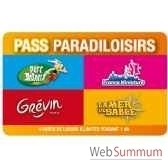pass paradiloisirs parc asterix mer de sable musee grevin france miniature pass enfant annuel