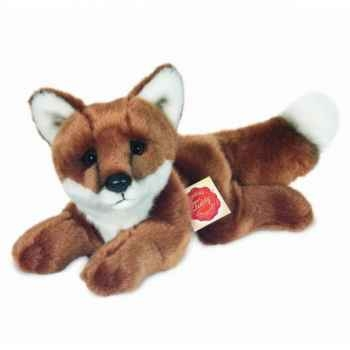 Peluche Renard couché Hermann Teddy collection 25cm 90324 6