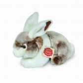 peluche lapin assis marron hermann teddy collection 22cm 93752 4