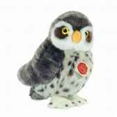 peluche chouette cheveche hermann teddy collection 25cm 94129 3