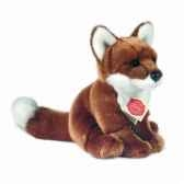 peluche renard assis hermann teddy collection 20cm 90321 5