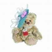 peluche ours audrey hermann teddy originaminiature 14cm 15094 7