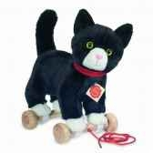 peluche chat sur roues hermann teddy collection 29cm 94601 4