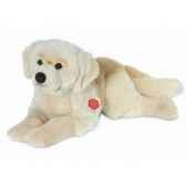 peluche chien golden retriever couche hermann teddy collection 60cm 92760 0