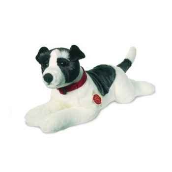 Peluche Chien Jack Russell Terrier couché Hermann Teddy collection 45cm 92762 4