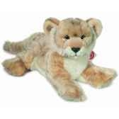 peluche lionne couchee hermann teddy collection 32cm 90446 5