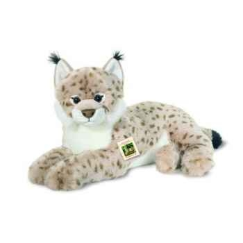 Peluche Lynx couché Hermann Teddy collection 50cm 90451 9