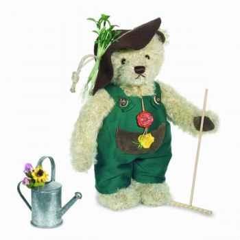 Peluche Ours Teddy bear gardener Hermann Teddy original 30cm 14629 2