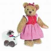 peluche ours teddy bear klara hermann teddy origina26cm 17526 1