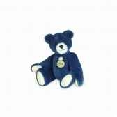 peluche ours teddy bleu fonce hermann teddy originaminiature 15398 6 6 cm
