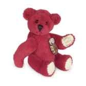 peluche ours teddy rouge hermann teddy originaminiature 45cm 15393 1