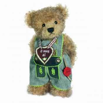 Peluche Ours hugo Hermann Teddy original 26cm 17252 9