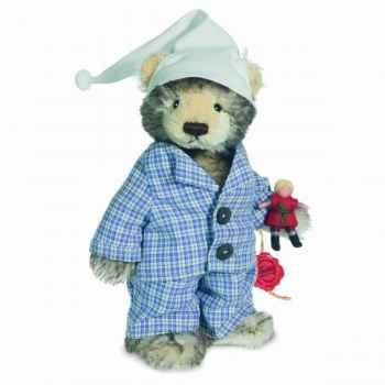 Peluche Ours Teddy tommy, mohair Hermann Teddy original 24cm 17036 5