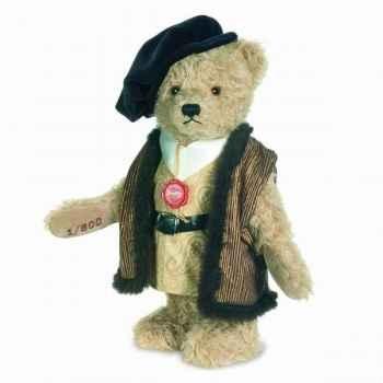 Peluche Ours merchant mohair Hermann Teddy original 32cm 17501 8