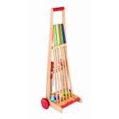 chariot de croquet 6 joueurs janod j03244
