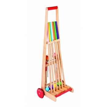 Chariot de croquet (6 joueurs) Janod J03244