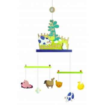 Mobile happy farm - décor Janod J04598