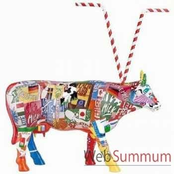 Cow Parade - Paris 2006 - Artiste Mina Ianuzzi - Baby Shake - 46414