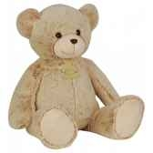 peluche ours beige classique z animoos 56 cm histoire d ours 2064