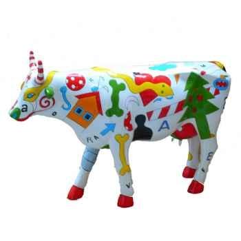 Cow Parade - Budapest 2006 - Artiste Zambo Istvan - Tehen Szimbobu Mokkai - 46420