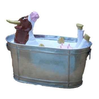 Cow Parade - Guadalajara 2007 - Artiste Celso Garcia - Milk Bath - 46422
