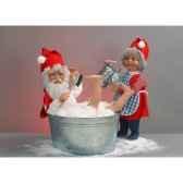automate pere noeprenant un bain automate decoration noe105