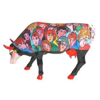 Cow Parade - Milan 2007 - Artiste Guiliana Maldini - The Wonderworld of Faces/Facette - 46431