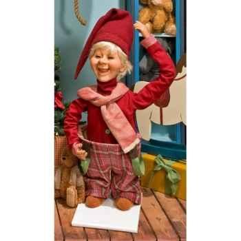 Automate - garçon en costume de noël  Automate Décoration Noël 151