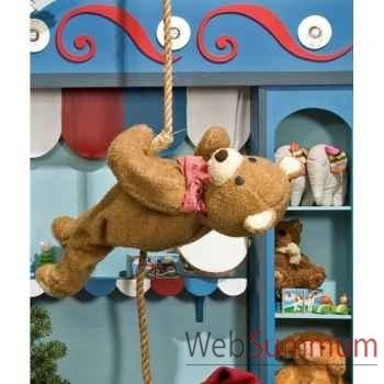 Automate - teddy bear suspendu Automate Décoration Noël 154