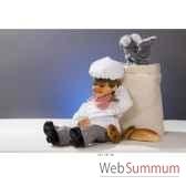 automate boulanger assis et assoupi automate decoration noe181