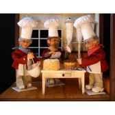 automate patissier melangeant un boautomate decoration noe192