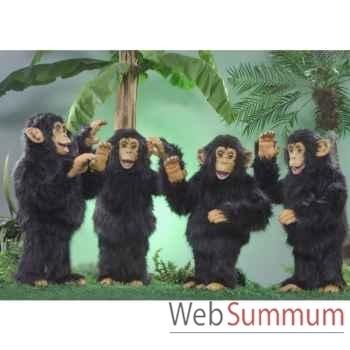 Automate - 4 chimpanzés dansant Automate Décoration Noël 280