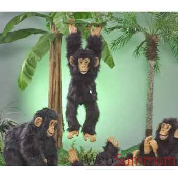 Automate - chimpanzé se balançant Automate Décoration Noël 284