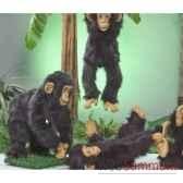 automate chimpanze debout automate decoration noe285