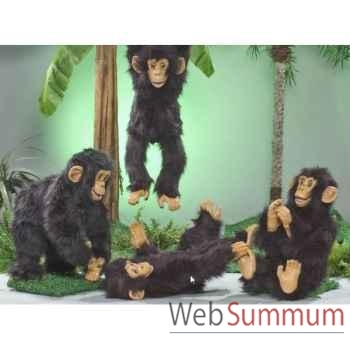 Automate - chimpanzé balançant ses jambes Automate Décoration Noël 286