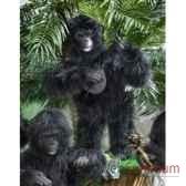 automate gorille jouant de la guitare africaine automate decoration noe295