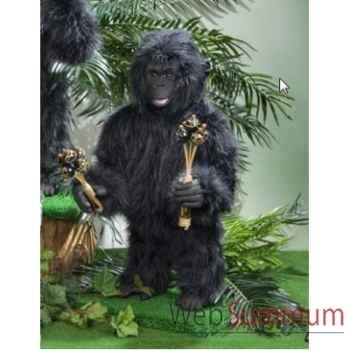 Automate - gorille jouant des maracas Automate Décoration Noël 296