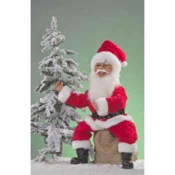 Automate - père noël riant Automate Décoration Noël 305