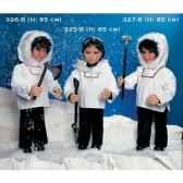 automate esquimau avec une hache automate decoration noe326
