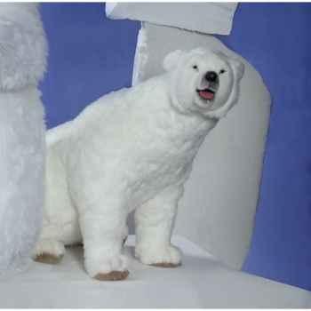 Automate - ours polaire tournant la tête Automate Décoration Noël 328