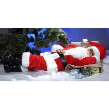 Automate - père-noël endormi Automate Décoration Noël 413