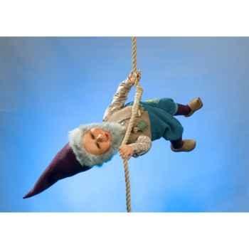 Automate - lutin du père noël à l'envers Automate Décoration Noël 578