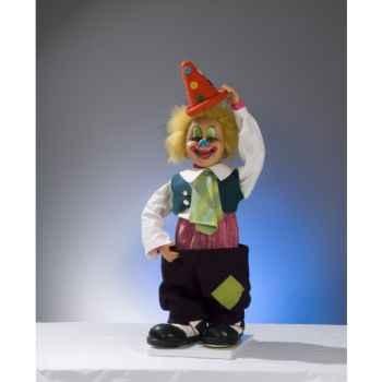 Automate - clown baissant et montant son pantalon Automate Décoration Noël 651