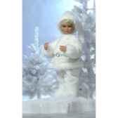 automate garcon en costume de noeblanc automate decoration noe671